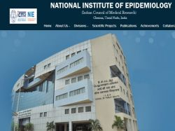 Icmr Nie Chennai Recruitment 2021 Apply For Project Scientist Post