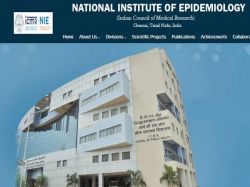 Icmr Nie Chennai Recruitment 2021 Apply For Consultant Scientist B And Other Post