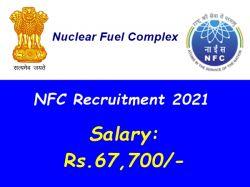 Nfc Recruitment 2021 Apply Online For Technical Officer D Group A Post