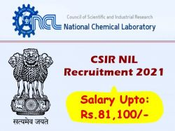 Csir Nil Recruitment 2021 Apply For Secretariat Assistant Stenographer Driver And Other Post