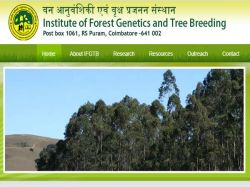 Ifgtb Coimbatore Recruitment 2021 Apply For Forester Deputy Ranger Post