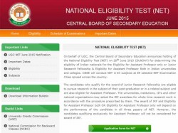Cbse Announces Date Net Examinations