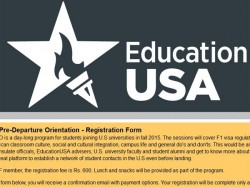 Educationusa S Pre Departure Orientation Students Admitted Us