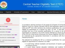 Cbse Conduct Next Teachers Test Ctet On Sep