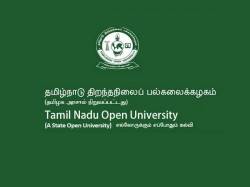 Tamil Nadu Open University Resumes Admissions With 63 New Courses