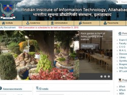 Iiit Allahabad Offers Ph D Programmes Admission