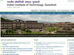 Iit Guwahati Offers Scholarships Ph D Programmes