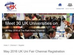 Uk University Fair Chennai