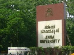 Anna University Chennai Invites Application Teaching Fellow