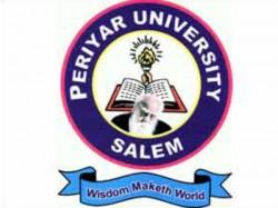 Periyar University Recruitment