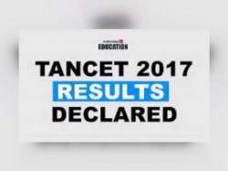 Tancet Result Declared