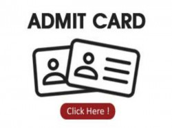 Admit Card For Competitive Exams
