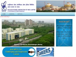 Npcil Recruitment 2018 For Medical Officers Posts