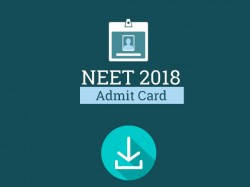 Neet Admit Card Released At Cbseneet Nic In
