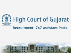 High Court Of Gujarat Recruitment 2018 767 Assistant Posts Apply From Today