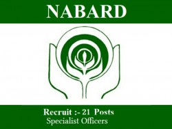 Nabard Recruitment 2018 For Various Posts Earn Up To Inr 3 25 Lakhs