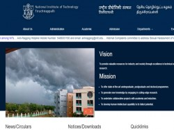 Nit Trichy 08 Hostel Assistant Trainee Post Recruitment