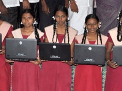 Laptop School Students Tn Education Minister
