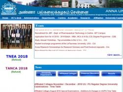 Anna University Recruitment 2018 Application Form Advisor Post