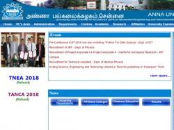 Anna University Recruitment 2018 Apply 06 Project Associate Jobs