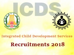 Icds Tamilnadu Recruitment 2018 89 Vacancies Apply Now
