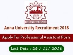 Anna University Recruitment 2018 Apply 52 Peon Profession