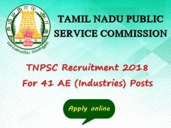 Tnpsc Recruitment 2018 41 Ae Industries Posts Apply Online