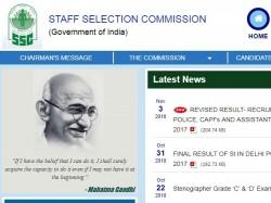 Ssc Notification 2018 Ssc Nic In Junior Senior Hindi Tra