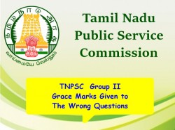Tnpsc Group 2 Grace Marks Given The Wrong Questions