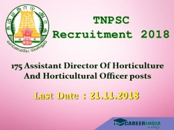 Tnpsc Recruitment 2018 175 Assistant Director Horticulture