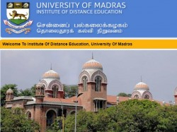 Chennai University Distance Education Exam Starts From Dec