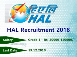 Hal Recruitment 2018 13 Posts Air Traffic Controller Traine