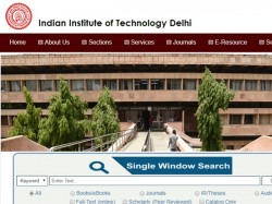 Iit Delhi Executive Assistant Recruitment 2018 50 Vacancie