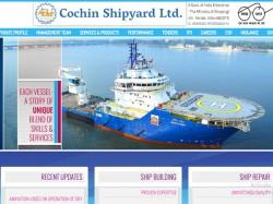 Cochin Shipyard Limited Jobs 2018 120 Graduate Apprentice