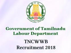 Tncwwb Recruitment 2018 11 Office Assistant Vacancies Open