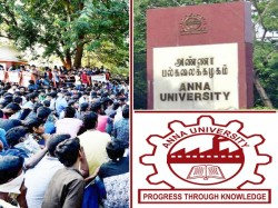 Anna University Students Protest Against Current Arrear Syst