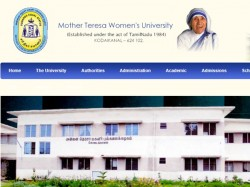 Mother Teresa Womens University Jobs 2019 Walk For Project