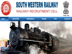 South Western Railway Recruitment 2019 Nss Quota Posts