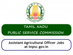 Tnpsc Recruitment 2019 580 Assistant Agricultural Officer J