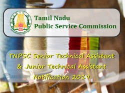 Tnpsc Senior Technical Assistant Junior Technical Assistan