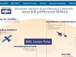 Bhel Recruitment 2019 Check Apply Link 80 Engineer Superv