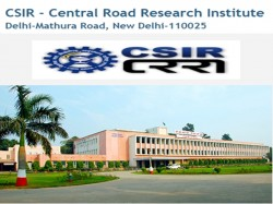Central Road Research Institute Recruitment