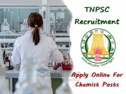 Tnpsc Recruitment 2019 Apply Online 02 Chemist Posts