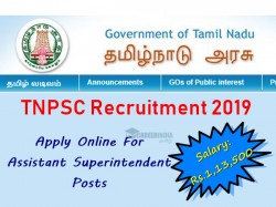 Tnpsc Recruitment 2019 Apply Online 04 Assistant Superinte