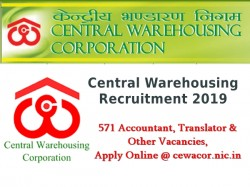 Central Warehousing Recruitment 2019 571 Accountant Transl