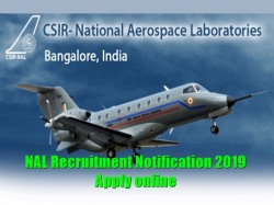 Nal Recruitment Nal Recruitment Notification 2019 Apply O