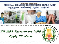 Tn Mrb Recruitment 2019 Apply 44 Nurse
