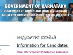Wcd Karnataka Anganwadi Recruitment 2019 Apply Now