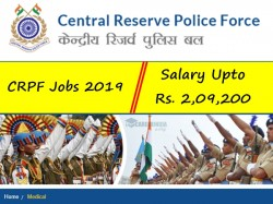 Crpf Jobs 2019 496 Medical Officer Specialist Medical Offi