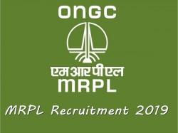 Mrpl Recruitment 2019 Apply Online For 195 Graduate Techn